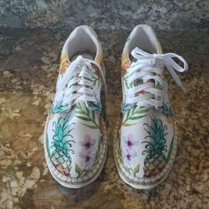 AUTHENTIC Free People Topical Tennies